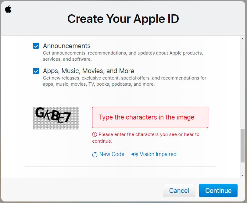 kako napraviti apple id
